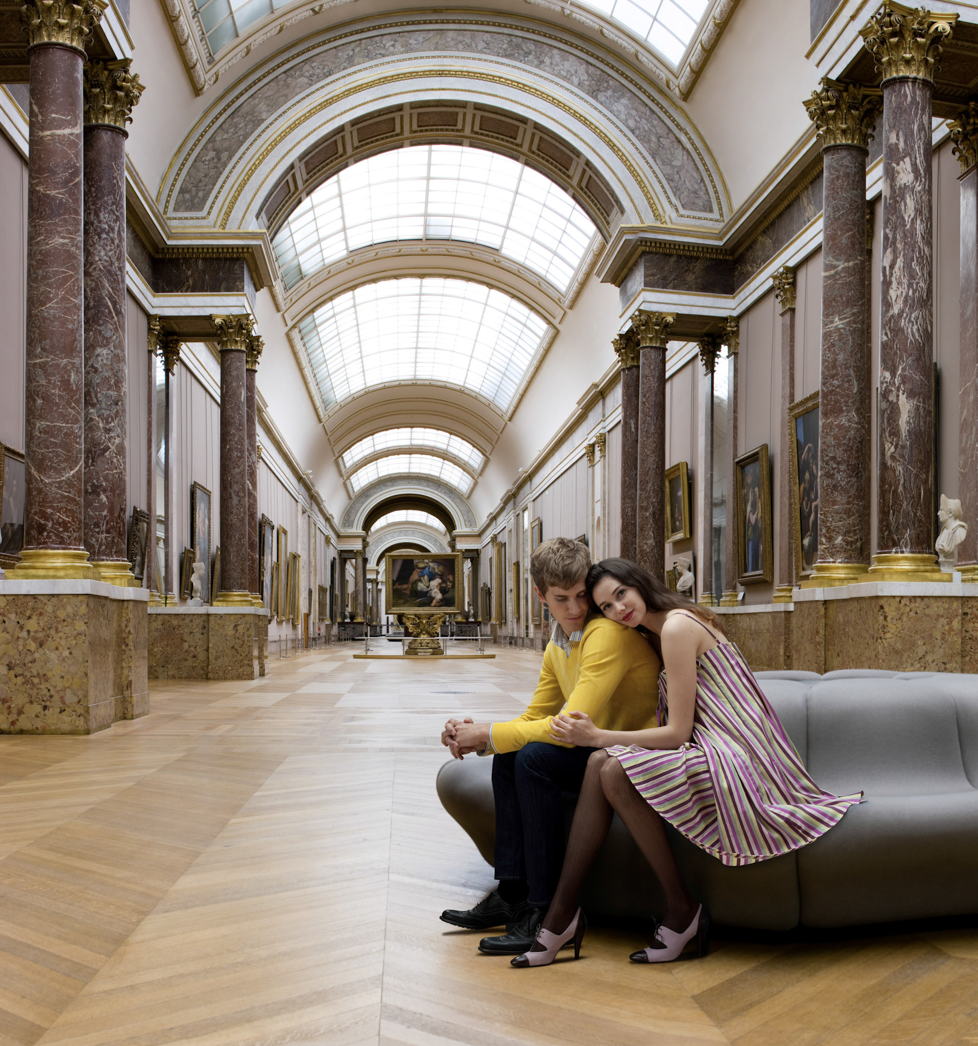 San Francisco lifestyle photographer - Louvre Paris